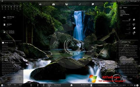 Captura de pantalla Rainmeter para Windows 7