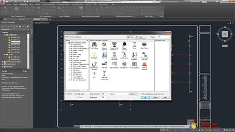Captura de pantalla AutoCAD Electrical para Windows 7