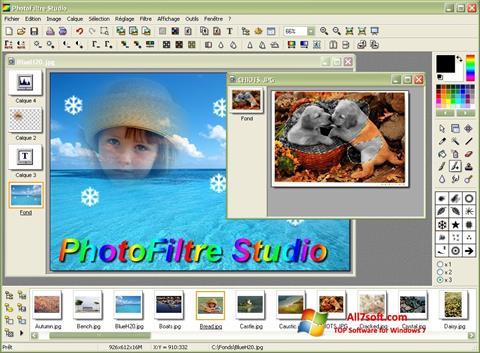 Captura de pantalla PhotoFiltre para Windows 7