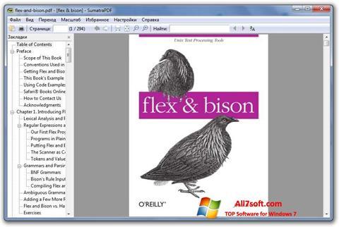 Captura de pantalla Sumatra PDF para Windows 7