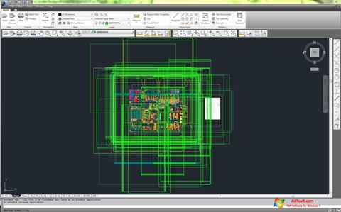 Captura de pantalla DWG TrueView para Windows 7