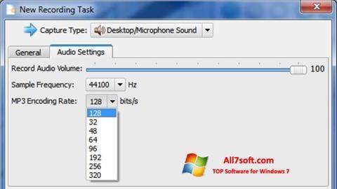Captura de pantalla SMRecorder para Windows 7