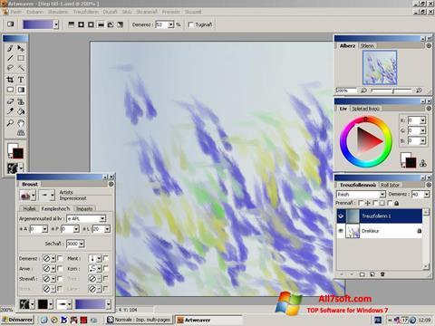 Captura de pantalla Artweaver para Windows 7