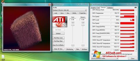 Captura de pantalla ATITool para Windows 7