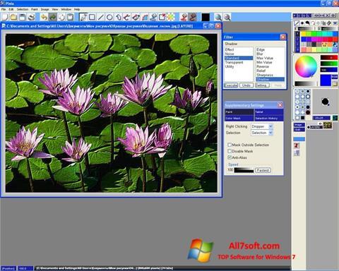 Captura de pantalla Pixia para Windows 7