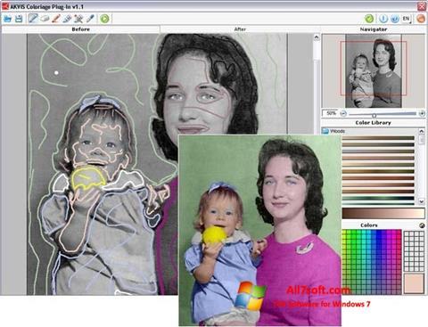 Captura de pantalla AKVIS Coloriage para Windows 7