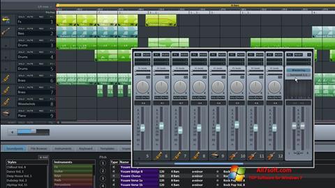 Captura de pantalla MAGIX Music Maker para Windows 7
