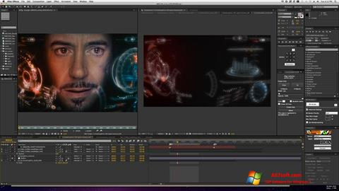 Captura de pantalla Adobe After Effects para Windows 7