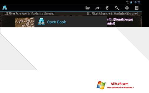 Captura de pantalla AlReader para Windows 7