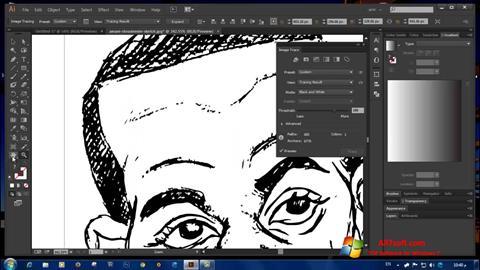 Captura de pantalla Adobe Illustrator CC para Windows 7