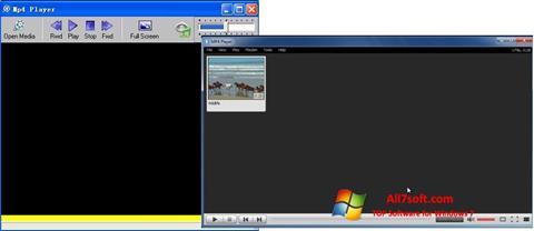 Captura de pantalla MP4 Player para Windows 7