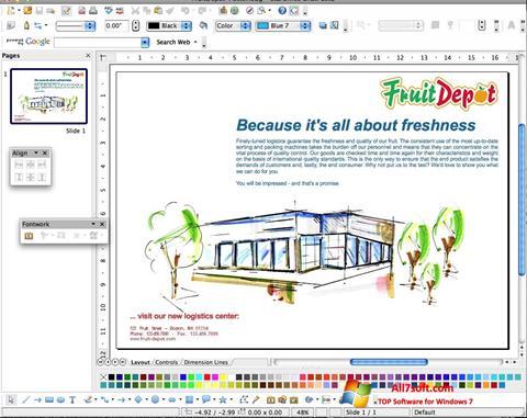 Captura de pantalla Apache OpenOffice para Windows 7