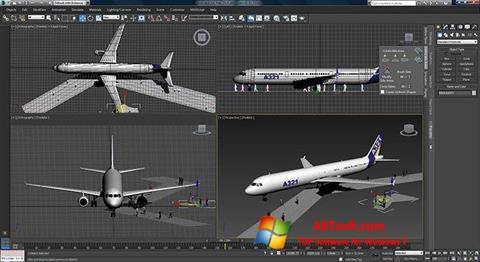 Captura de pantalla 3ds Max para Windows 7