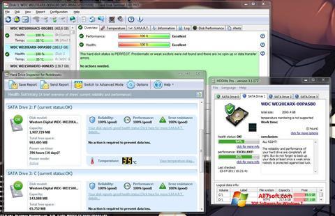 Captura de pantalla HDD Health para Windows 7