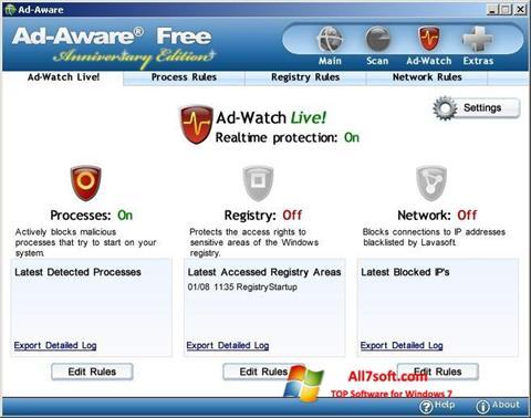 Captura de pantalla Ad-Aware Free para Windows 7