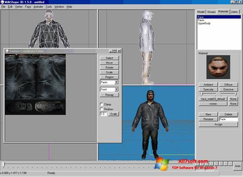 Captura de pantalla MilkShape 3D para Windows 7