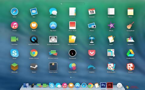 Captura de pantalla OS X Flat IconPack Installer para Windows 7