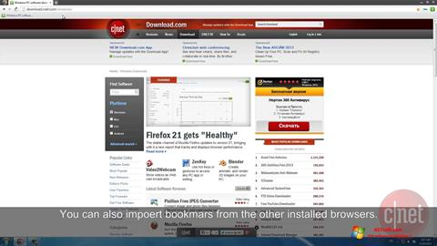 Captura de pantalla Comodo Dragon para Windows 7