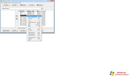 Captura de pantalla ArtMoney Pro para Windows 7