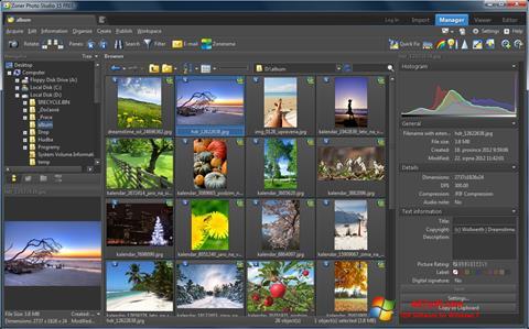 Captura de pantalla Zoner Photo Studio para Windows 7