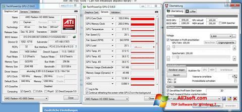 Captura de pantalla ATI Tray Tools para Windows 7