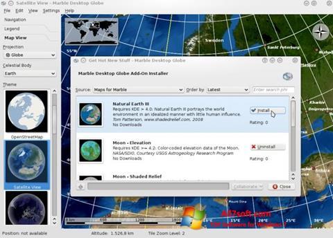 Captura de pantalla Marble para Windows 7
