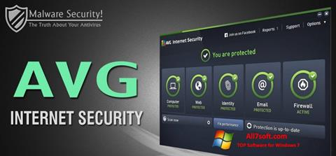 Captura de pantalla AVG Internet Security para Windows 7