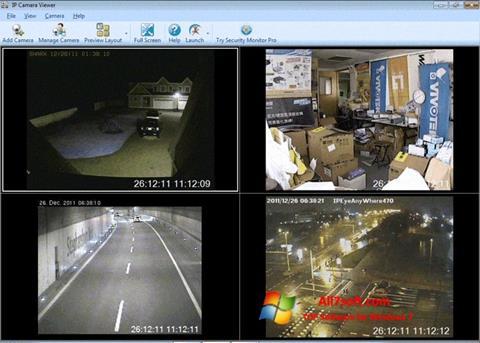 Captura de pantalla IP Camera Viewer para Windows 7