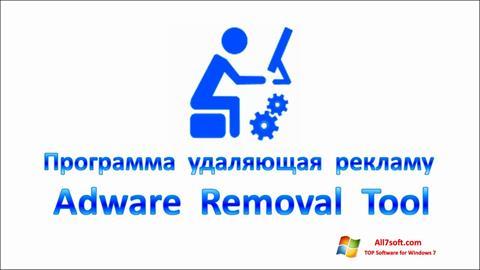 Captura de pantalla Adware Removal Tool para Windows 7