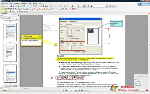 Captura de pantalla PDF-XChange Viewer para Windows 7