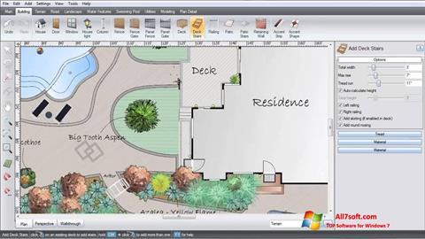 Captura de pantalla Realtime Landscaping Architect para Windows 7