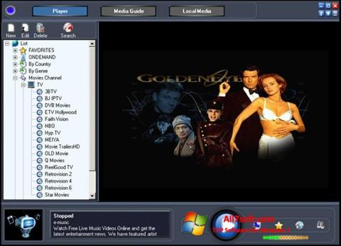 Captura de pantalla Online TV Live para Windows 7