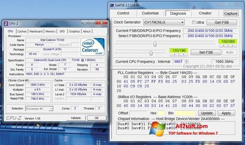 Captura de pantalla SetFSB para Windows 7