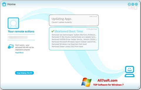 Captura de pantalla Soluto para Windows 7