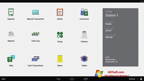 Captura de pantalla Clover para Windows 7