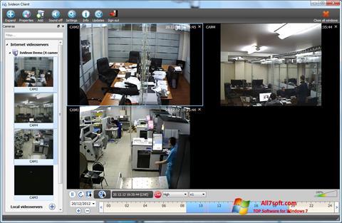 Captura de pantalla Ivideon Server para Windows 7