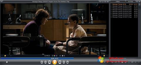 Captura de pantalla Zoom Player para Windows 7