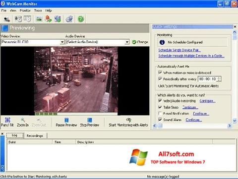 Captura de pantalla WebCam Monitor para Windows 7