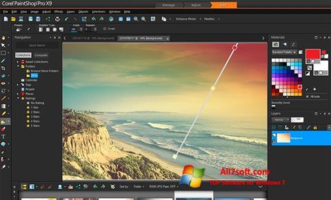 Captura de pantalla PaintShop Pro para Windows 7