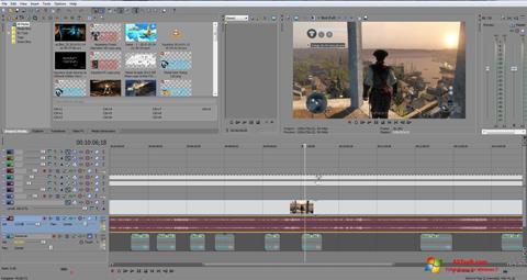 Captura de pantalla Sony Vegas Pro para Windows 7