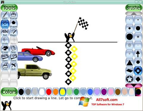 Captura de pantalla Tux Paint para Windows 7