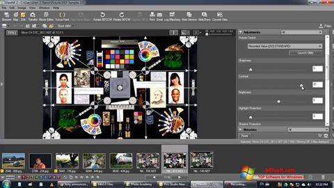 Captura de pantalla ViewNX para Windows 7
