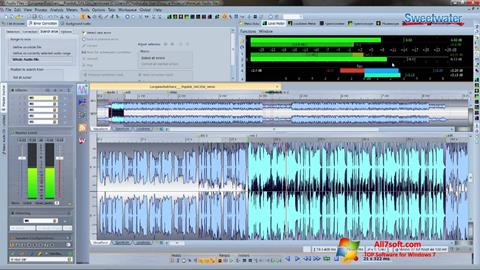 Captura de pantalla WaveLab para Windows 7
