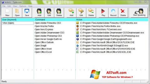 Captura de pantalla Typle para Windows 7