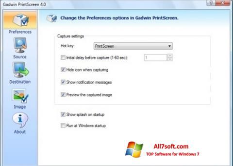 Descargar Gadwin PrintScreen para Windows 7 (32/64 bit) en