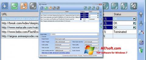 Captura de pantalla VideoGet para Windows 7