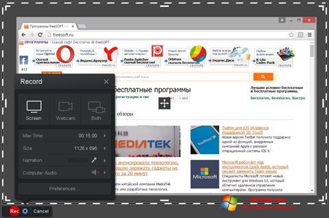 Captura de pantalla Screencast-O-Matic para Windows 7