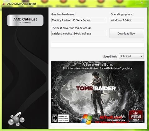 Captura de pantalla AMD Driver Autodetect para Windows 7