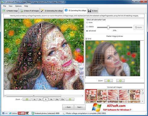 Captura de pantalla Photo Collage Maker para Windows 7