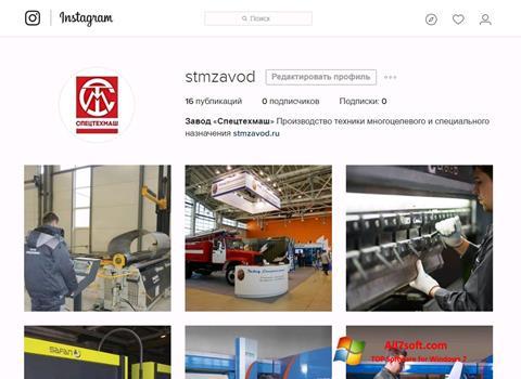 Captura de pantalla Instagram para Windows 7